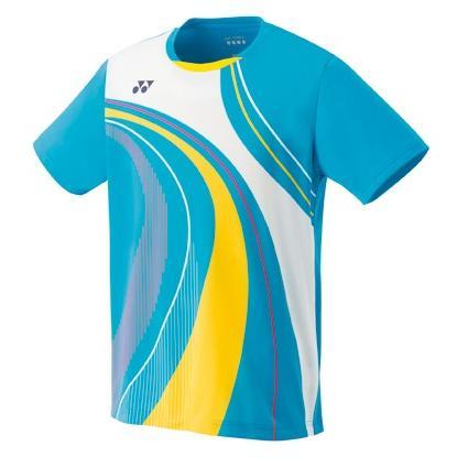 ヨネックス YONEX 10290 メンズゲームシャツ(フィットスタイル) テニス・バドミントン ウェア(メンズ) マリンブルー
