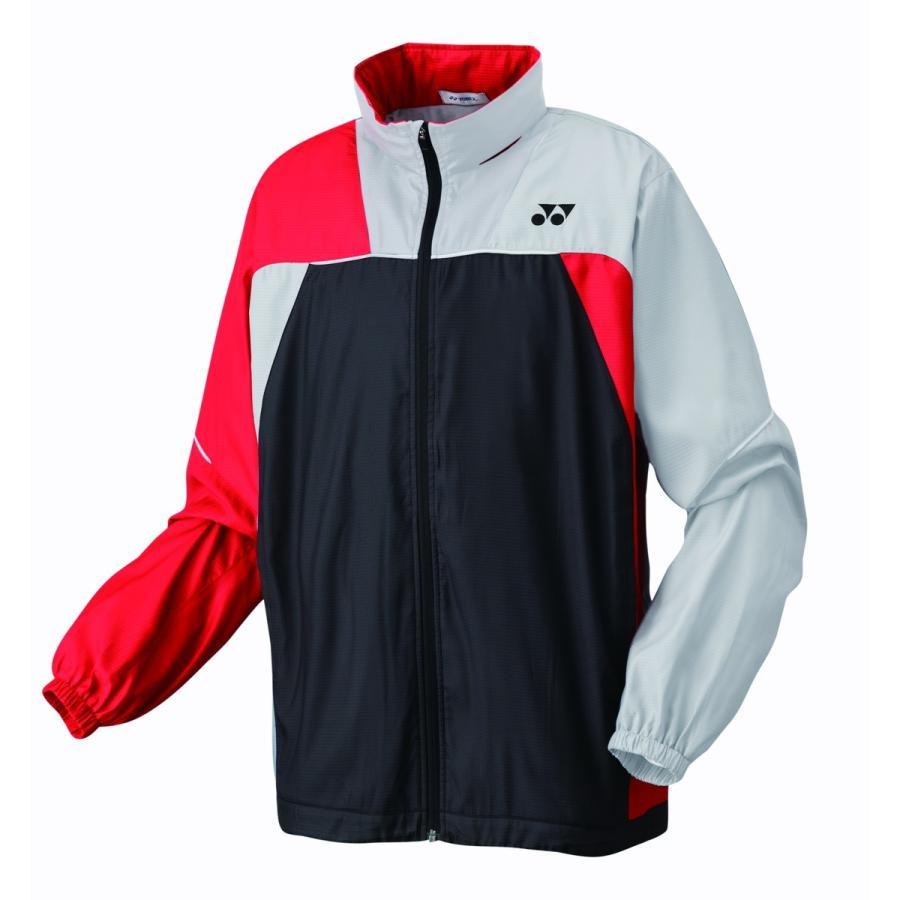 ヨネックス YONEX 70069J ジュニアウィンドウォーマーシャツ テニス・バドミントン ウェア(ジュニア) ブラック/シルバー