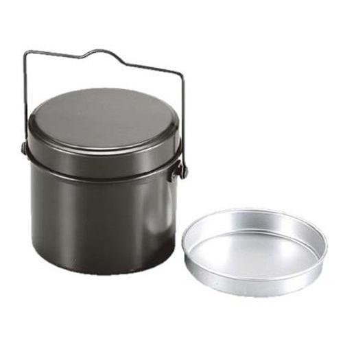 キャプテンスタッグ(CAPTAIN STAG) バーベキュー BBQ用 炊飯器 林間丸型ハンゴー 4合炊きM-5546|aito-create|03
