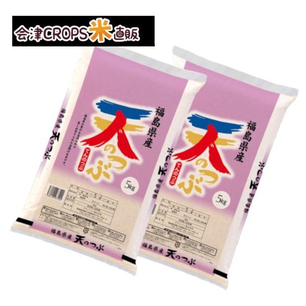 天のつぶ お米 10kg 5kg×2袋 白米 通常発送 福島産 2020 新作 令和二年産 送料無料 スピード対応 全国送料無料