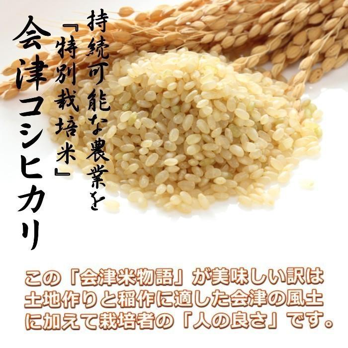 米 お米 5kg×4袋 玄米 2年産新米 会津米物語コシヒカリ 特A一等米使用  送料別料金ふくしまプライド。体感キャンペーン こしひかり 20kg|aizukome