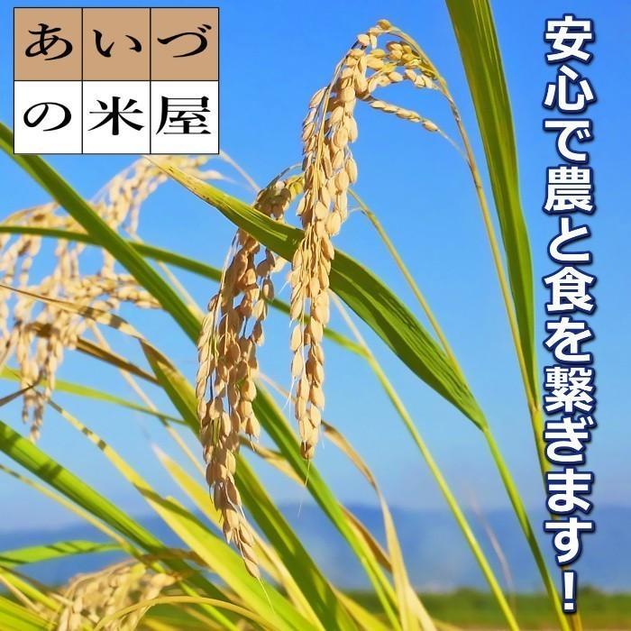 米 お米 5kg×4袋 玄米 2年産新米 会津米物語コシヒカリ 特A一等米使用  送料別料金ふくしまプライド。体感キャンペーン こしひかり 20kg|aizukome|03