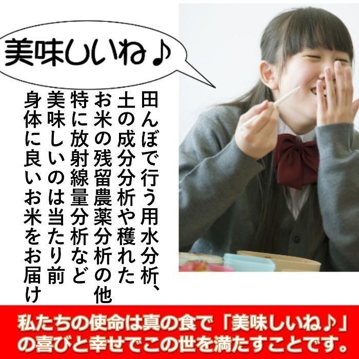 米 お米 5kg×4袋 玄米 2年産新米 会津米物語コシヒカリ 特A一等米使用  送料別料金ふくしまプライド。体感キャンペーン こしひかり 20kg|aizukome|09