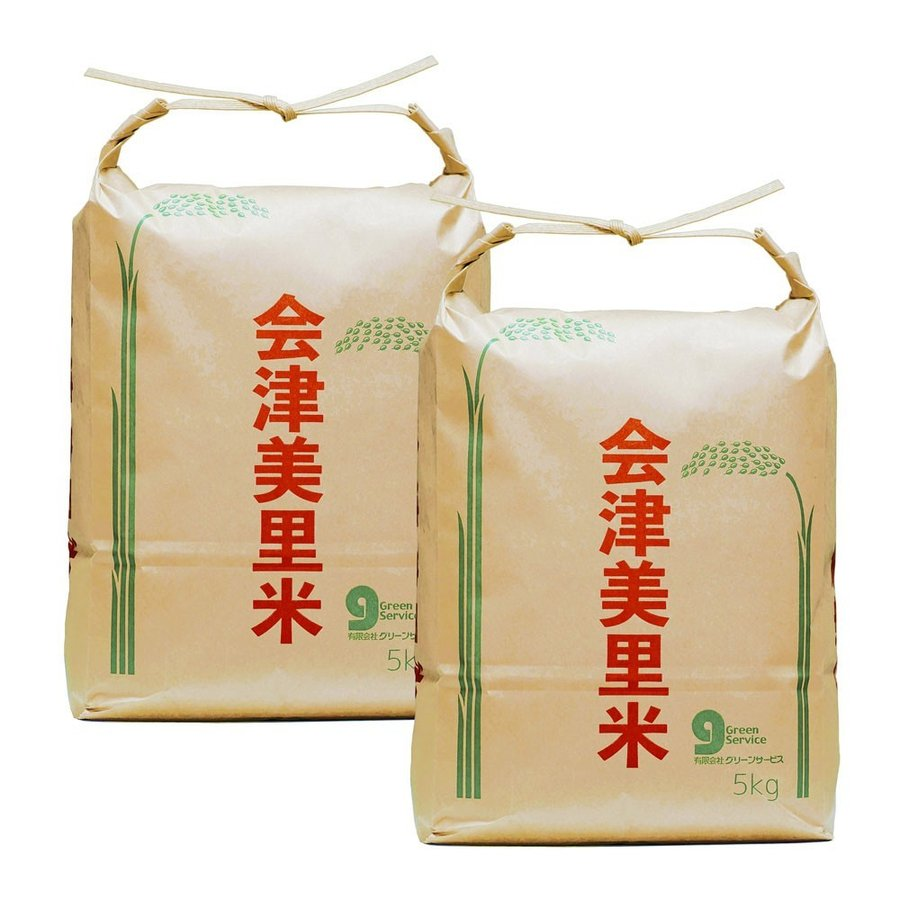 米 会津二色米 5kg×2 玄米 2年産新米 会津米 コシヒカリ+ひとめぼれ 中部地方までの本州地域送料無料|aizukome|02