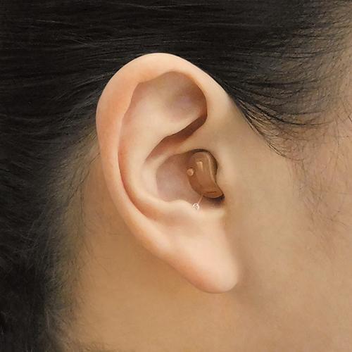 セットでお得!替え電池2パックプレゼント中!(外付) ONKYO オンキヨー/小型 耳あな型 耳穴型 補聴器 ハウリング抑制/左右両耳セット OHS-D21LR|ajewelry|05