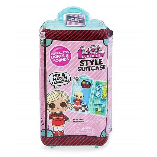 【L.O.L. Surprise 】LOL サプライズ スタイル スーツケース ベビー Style Suitcase Interactive Surprise - As if Baby /おもちゃ/人形/女の子用/プレゼント/lo