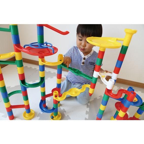 知育玩具 3才 4才 5才 おもちゃ 遊具 子供 孫 誕生日 コロコロスライダー133 ビビットタイプ【プレゼント】|akachandepart|02