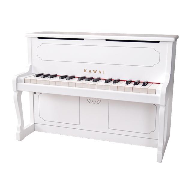 カワイ アップライトピアノ【1152】ホワイト・河合楽器【プレゼント】
