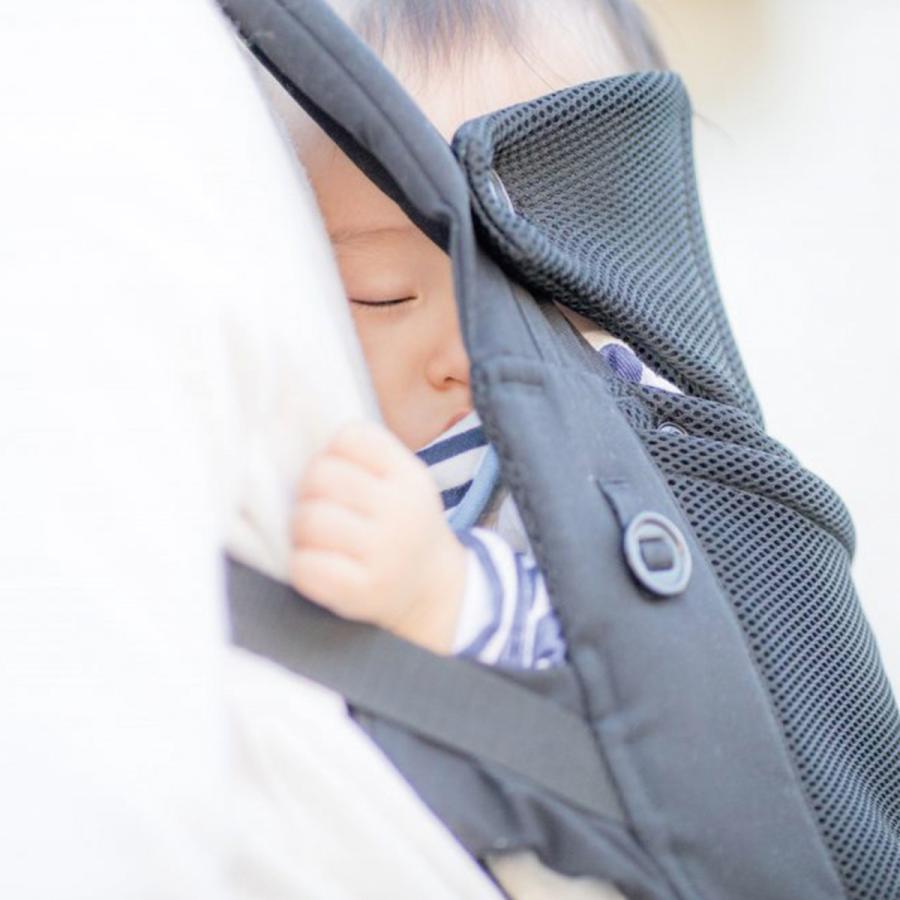 抱っこ紐 新生児 コンパクト 簡単 moahbaby ヤトミ ベビーキャリア|akachandepart|06