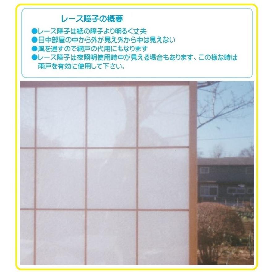 貼り方簡単・多機能ボーダー柄100cm(幅)×200cm(高さ)2枚入り レース生地面に抗菌処理して有ります akagilace-poster 02