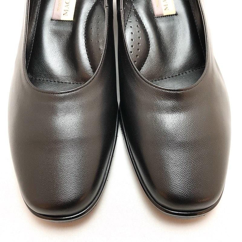 フォーマルパンプス はっ水 レイン対応 4E 冠婚葬祭 就活 入学式 卒業式 オフィス パンプス 靴 89bl801|akai-kutsu|03