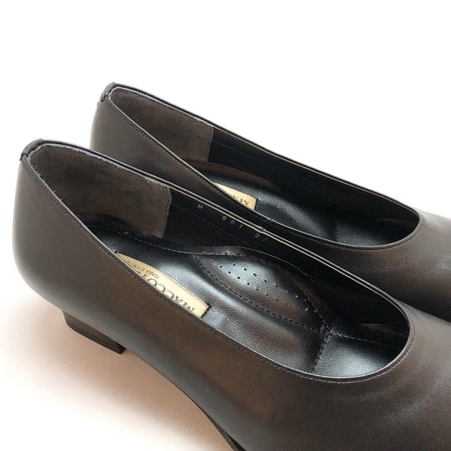 フォーマルパンプス はっ水 レイン対応 4E 冠婚葬祭 就活 入学式 卒業式 オフィス パンプス 靴 89bl801|akai-kutsu|05