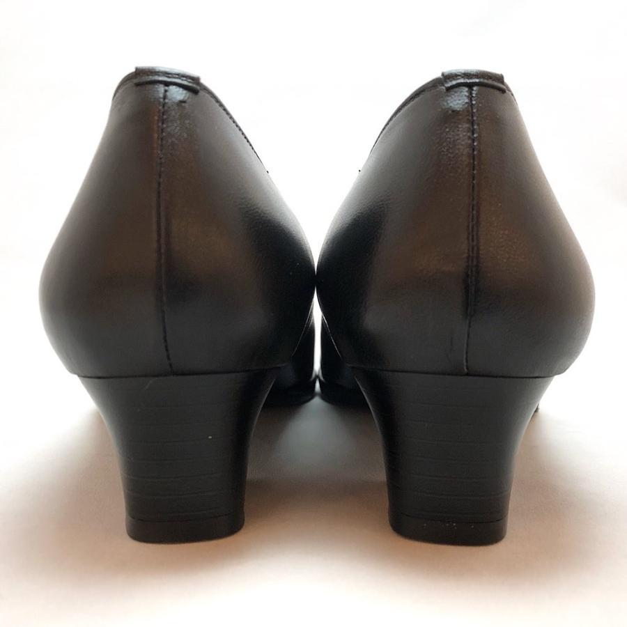 フォーマルパンプス はっ水 レイン対応 4E 冠婚葬祭 就活 入学式 卒業式 オフィス パンプス 靴 89bl801|akai-kutsu|06