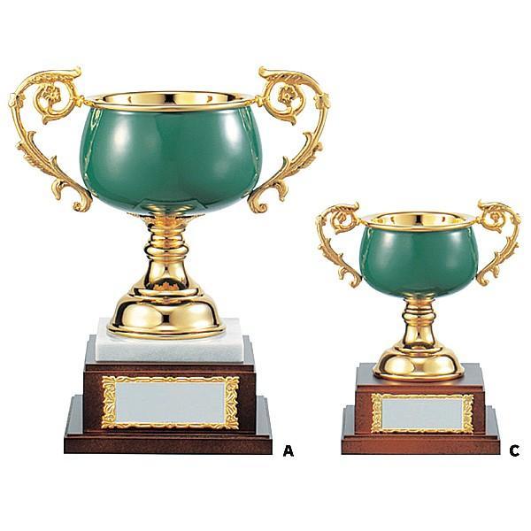 七宝カップ CLN1401C:ペナントを付けて持ち回りに使用できる豪華な七宝カップ 優勝カップ