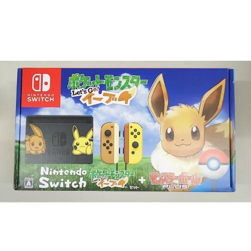 他店舗保証印あり/未使用品 Nintendo Switch ポケットモンスター Let's Go! イーブイセット (モンスターボール Plus付き)