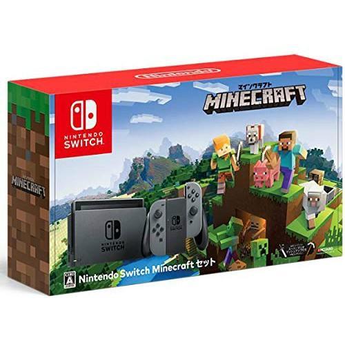 Nintendo Switch Minecraft (マインクラフト) セット ニンテンドースイッチ本体