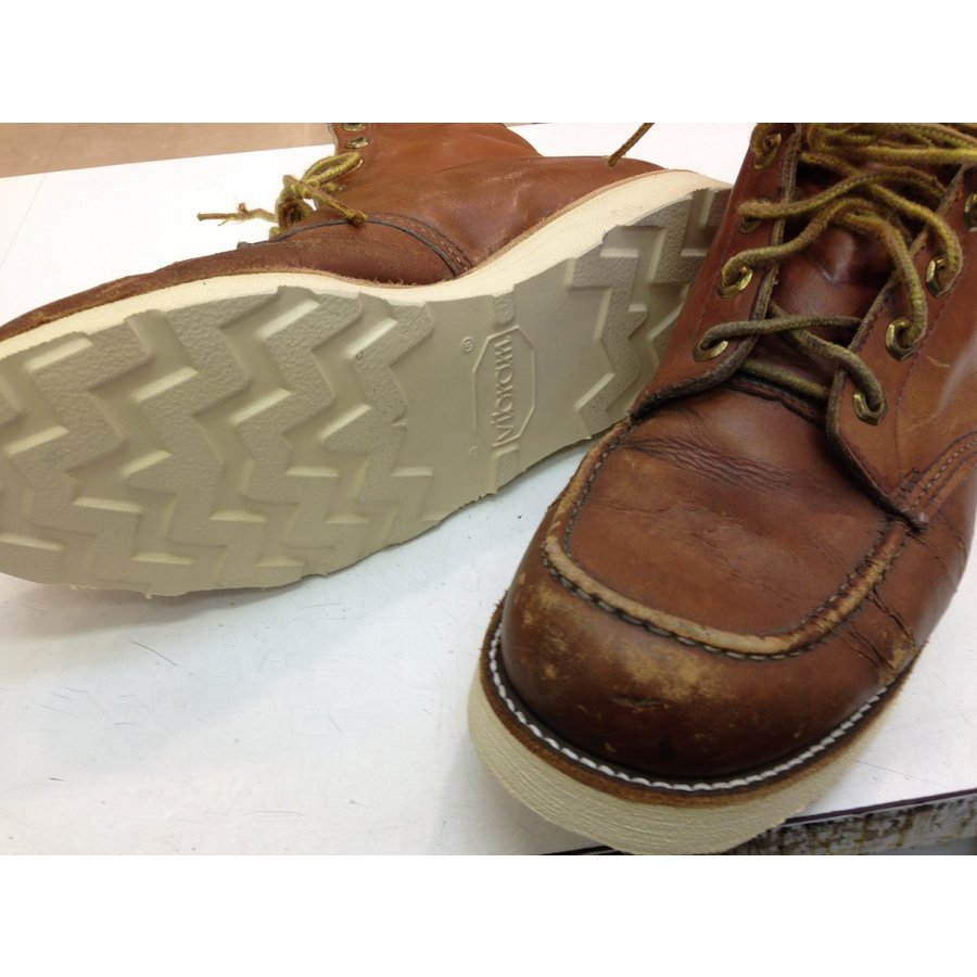 vibramソール4014白 張り替え靴修理|akakutsu|05