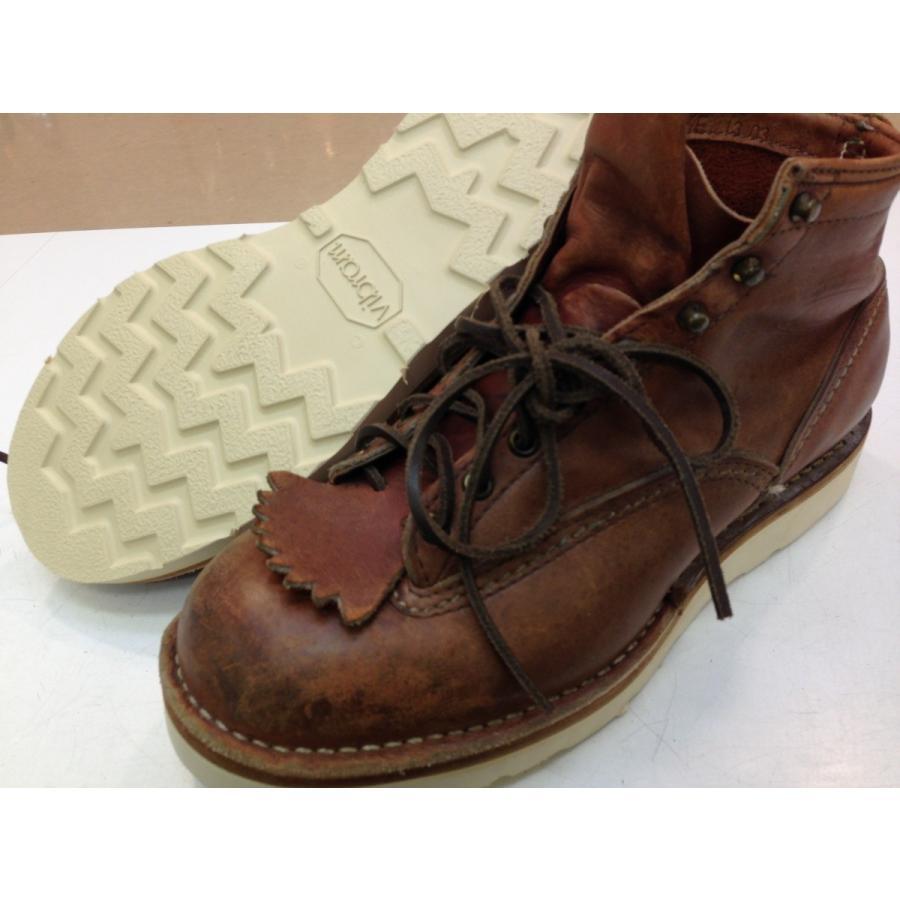 vibramソール4014白 張り替え靴修理|akakutsu|06