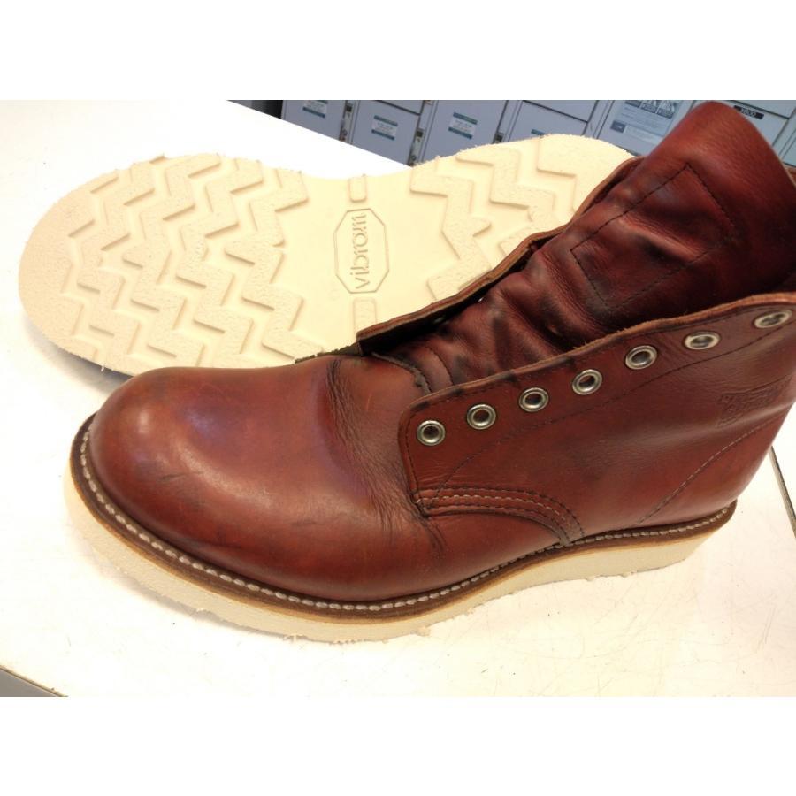vibramソール4014白 張り替え靴修理|akakutsu|09