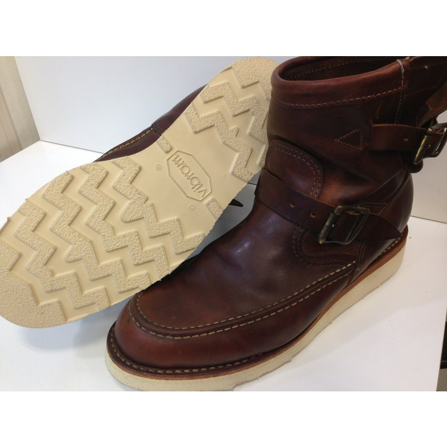 vibramソール4014白 張り替え靴修理|akakutsu|10