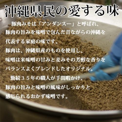 【送料込み】沖縄豚肉みそ&うま辛 選べる3パック 肉味噌 沖縄  ご飯のお供 送料無料 赤マルソウ おにぎりの具 油みそ お試し|akamarusou|04