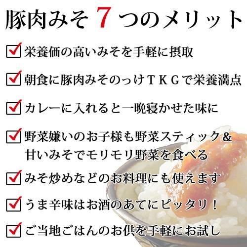 【送料込み】沖縄豚肉みそ&うま辛 選べる3パック 肉味噌 沖縄  ご飯のお供 送料無料 赤マルソウ おにぎりの具 油みそ お試し|akamarusou|06