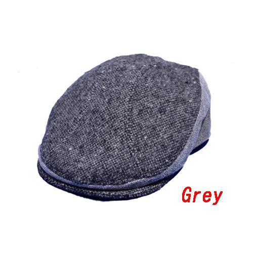 NEWYORK HAT #9259 TWEED/LEATHER COMBO 1900|akamonbrother-rsgear