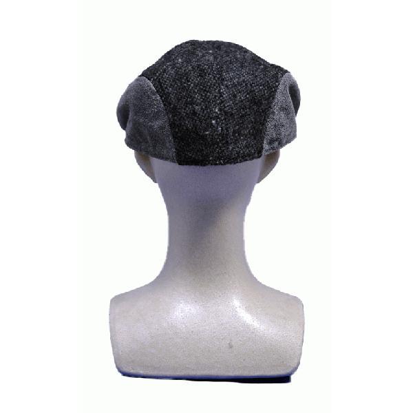 NEWYORK HAT #9259 TWEED/LEATHER COMBO 1900|akamonbrother-rsgear|05