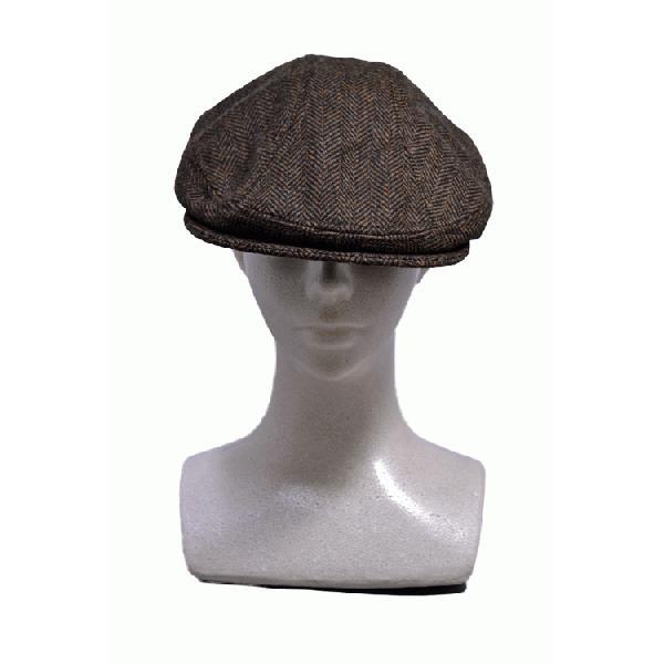 NEWYORK HAT #9333 HERRINGBONE 1900 akamonbrother-rsgear 02