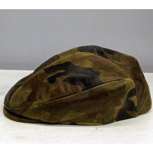 NEWYORK HAT #9257 CAMO LEATHER 1900|akamonbrother-rsgear|02