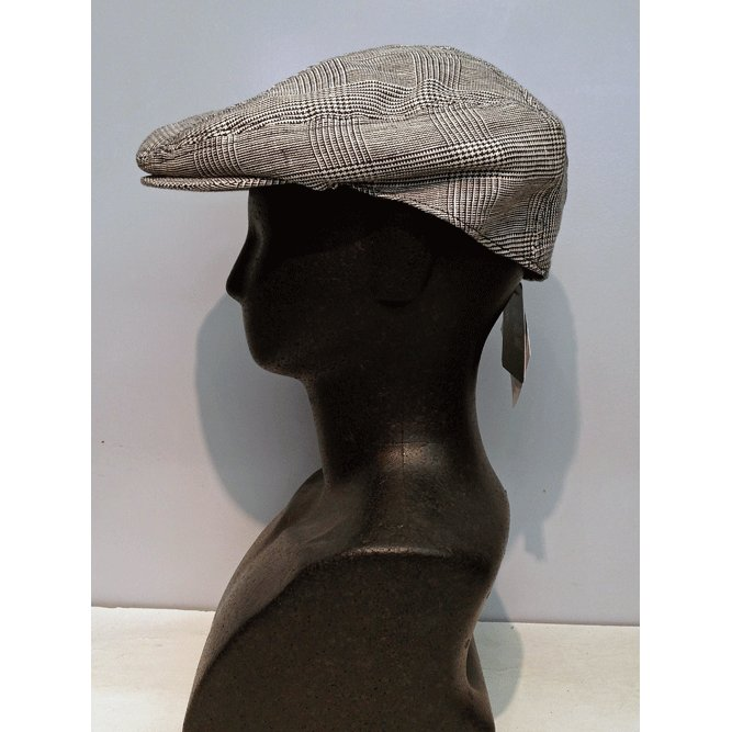 New York Hat #6240 PLAID LINEN 1900|akamonbrother-rsgear|04