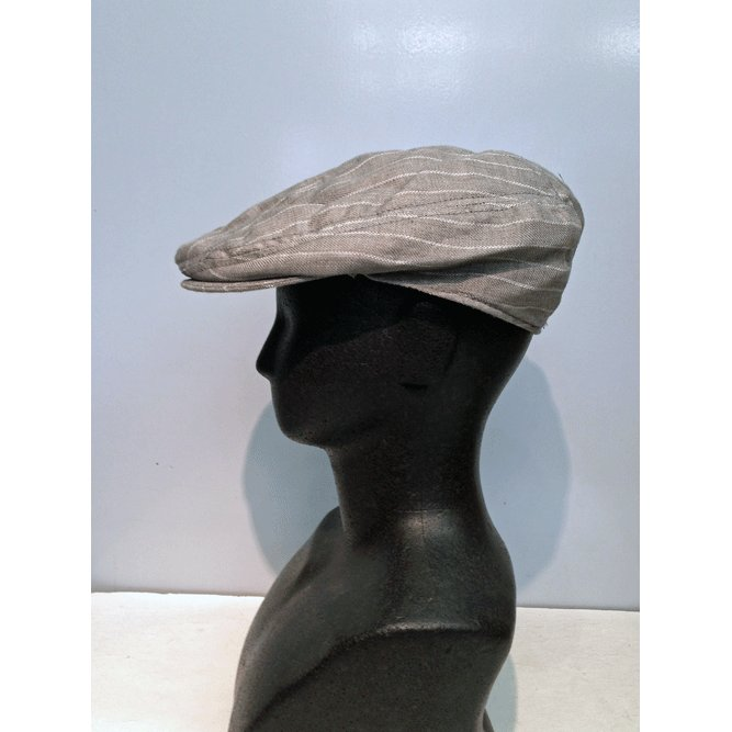 New York Hat #6266 STRIPED LINEN 1900|akamonbrother-rsgear|04