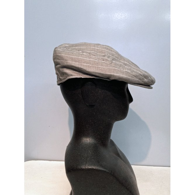 New York Hat #6266 STRIPED LINEN 1900|akamonbrother-rsgear|06
