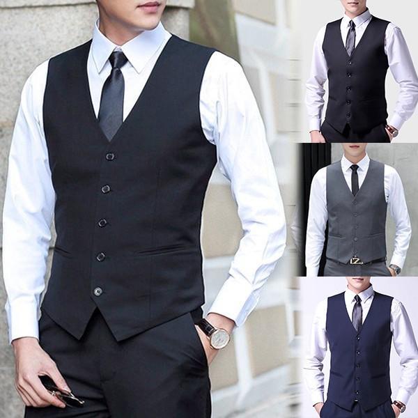 ジレベスト フォーマルベスト メンズ 無地 前開き Vネック フォーマル ベスト スーツ ビジネス 男性 礼服 定番 格好いい 紳士的 結婚式 宴会 ドレス akanebeauty