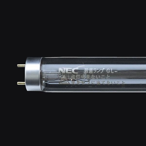 NEC 殺菌ランプ 20W形 20W形 グロースタータ形 10本セット GL-20-10SET