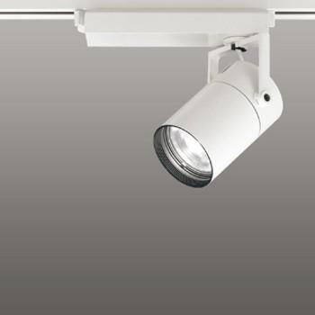 オーデリック LEDスポットライト CDM-T35W相当 4000K Ra83 配光角16° オフホワイト 調光可能 レール取付専用 XS512101C