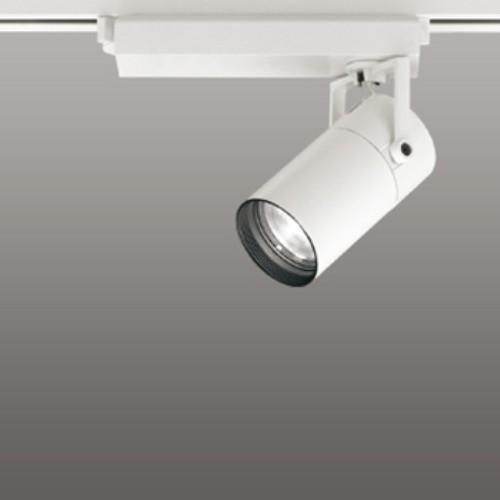 オーデリック LEDスポットライト CDM-T35W相当 3500K Ra95 配光角スプレッド オフホワイト 調光可能 レール取付専用 XS513135HC