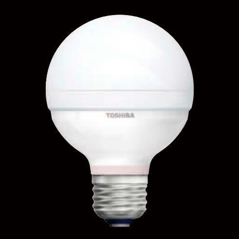 [生産完了商品]東芝 [生産完了商品]東芝 LED電球 ボール電球形 40W形相当 昼白色 口金E26 高演色タイプ 外径70mm [10個セット] LDG8N-D/G70-10SET