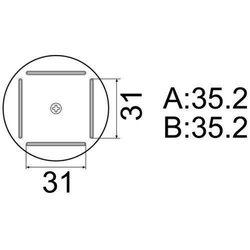 白光 [A1203B] QFP 35×35用 A-1203B ポイント5倍