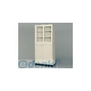 [1-9249-01] スチール保管庫 G−33SG G−33SG ガラス戸 1924901 ポイント5倍