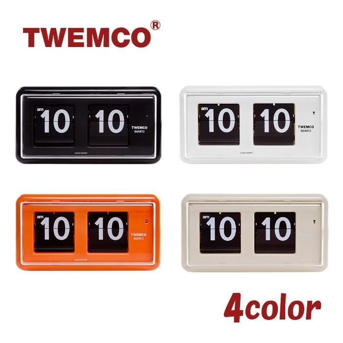 TWEMCO【トゥエンコ】パタパタ時計