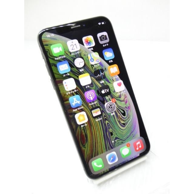 中古 スマートフォン softbank Apple iPhoneXS 256GB スペースグレイ MTE02J/A ※難あり※ネットワーク利用制限「△」判定 akiba-yushop