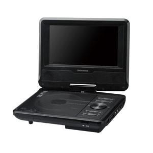グリーンハウス GH-PDV7L-BK 7型ポータブルDVDプレーヤー 乾電池モデル ブラック|akibaoo