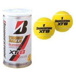 ブリヂストン BRIDGESTONE 硬式 テニスボール 2球缶1箱(30缶入り) XT-8