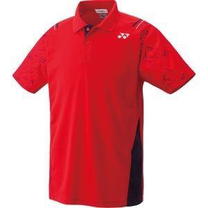 ヨネックス Yonex 男女兼用 テニスウェア UNI ポロシャツ サンセットレッド L 10221