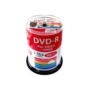 ハイディスク HDDR12JCP100 録画用DVD-R 約120分 100枚 16倍速 CPRM 磁気研究所|akibaoo