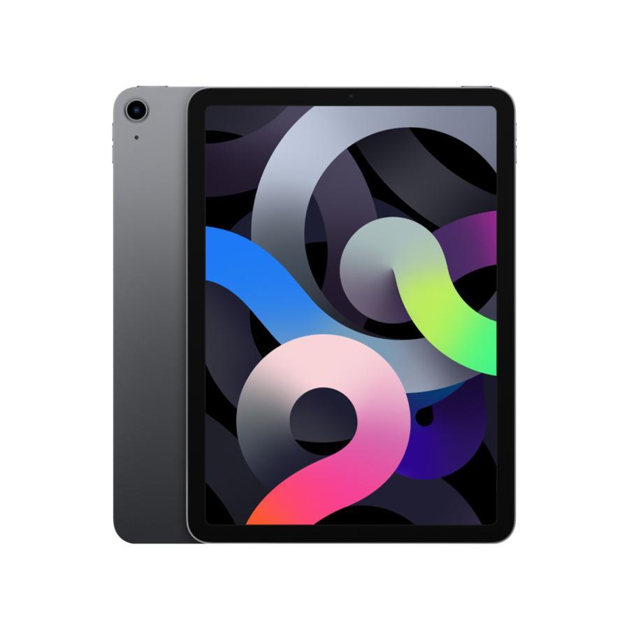 【訳アリ・サポート登録有り ~2022.4.25】iPad Air 10.9インチ 第4世代(2020) Wi-Fi 64GB MYFM2J/A (スペースグレイ)/apple akibasoko