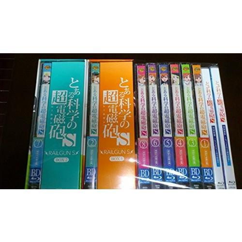 とある科学の超電磁砲S (初回生産限定版) 全8巻セット [全巻Blu-rayセット] [blu_ray] [2014]