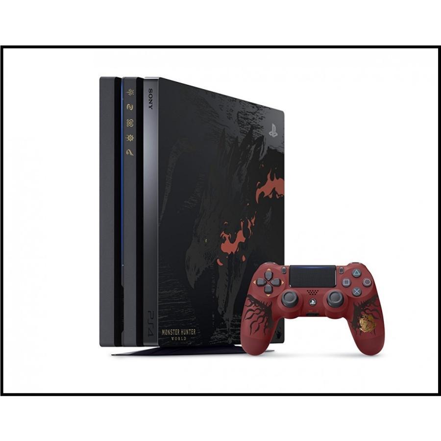 限定版 PS4 本体 PlayStation 4 Pro MONSTER HUNTER: WORLD LIOLAEUS EDITION モンスターハンター ワールド リオレウスエディション モンハン 新品