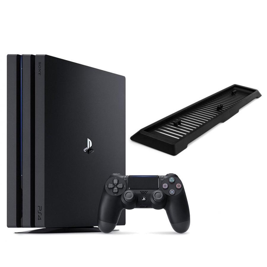 送料無料 通販 新品 PlayStation 4 Pro 本体 スタンド付き ジェット・ブラック 1TB CUH-7100BB01 PS4 プレイステーション プロ SONY 在庫あり